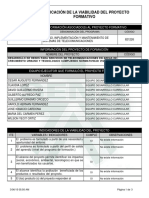 Reporte Viabilidad Proyecto de Aprendizaje - 719346 - DESARROLLO DE REDES