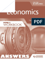 Economics (Paper 3 Workbook) - ANSWERS - Paul Hoang - Hodder 2015