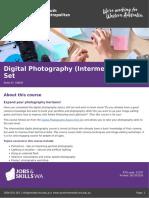 Digital Photography (Intermediate) Skill Set