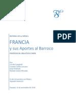 Histora musical del Barroco Francés