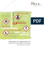 Mémento du réglement CLP