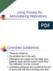 Nursing Process for Administering Medications