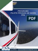 PROGRAMA PILOTO PRIVADO AVÓN PPA EAP PEI
