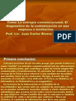 entropía comunicacional, diagnóstico de la comunicación en una empresa