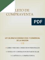 BOLETO DE COMPRAVENTA