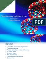 Plegamiento de proteínas in vivo
