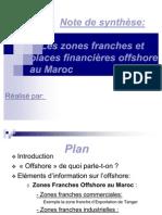 zone offshore maroc