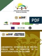 Lineamientos Politica Asociatividad AMPC