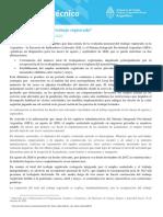 Panorama Del Trabajo Registrado 2011
