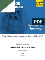 ESTUDOS TRANSVERSAIS IV - Inteligência Emocional