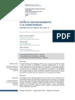 KAP MARTIN GENOVA 2020 - Publicacion- Entre El Distanciamiento y La Conectividad