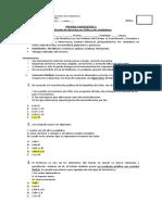Prueba Coeficiente 2 Historia IV medio