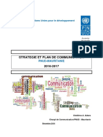 Stratégie et Plan de Communication PNUD Mauritanie 2016 - 2017 (draft).pdf