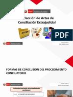 Redacción de Actas ENCE 2020