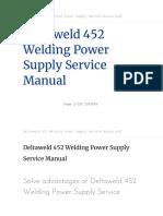 deltaweld-452-welding-power-supply-service-manual