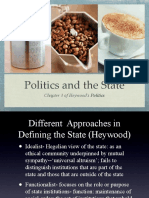 Chapter 3 Politics and the State