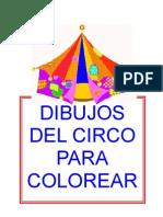 DIBUJOS del CIRCO