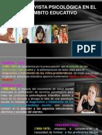 LA ENTREVISTA PSICOLOGICA EDUCATIVA EN EL AMBITO EDUCATIVO