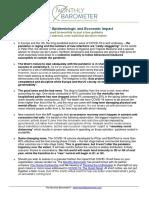 COVID-19 Epidemiologic and Economic Impact (Nov. 10, 2020)