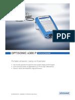 EETT OPTISONIC 6300P