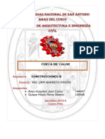 CURVAS DE VALOR EN LA EJECUCION DE PROYECTOS PARTE 1