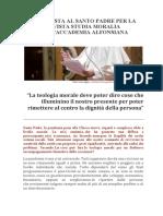 Intervista P. Francisco_Studia Moralia