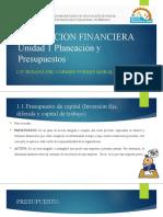 RECURSOS UNIDAD 1 PLANEACION FINANCIERA