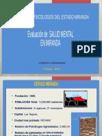 2013 Dx Salud Mental poblacion de Miranda