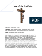 Interview of the Crucification for Adults or Teens