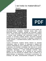 Gustavo E. Romero -- -De qué se trata la matemática-.docx