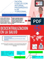 DESCENTRALIZACION DE LA SALUD