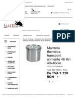 1.7.Marmita thermica pentru transport alimente cu capacitate de 48 litri