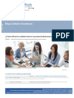 ¿Cómo influye la calidad total en la productividad empresarial_