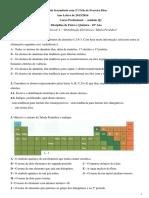 Mod Q1 - ficha formativa nº 2