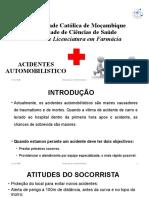 Acidente automobilistico-Dra. Emilia - 2020