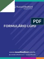 Formulário LGPD