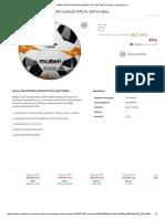 35.6. Contraoferta 2 - 1 buc - Molten UEFA EUROPA LEAGUE OFFICAL MATCH BALL _ sportisimo.ro