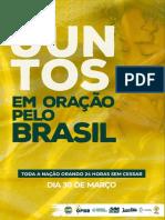 Juntos em Oração PELO BRASIL - Motivos de Oração FINAL