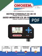 Manual Monosem CS30