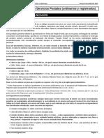 Tema 1 Productos y Servicios Postales (ordinarios y registrados)
