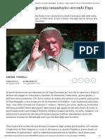 Guerra, Onu e «ingerenza umanitaria» secondo Papa Wojtyla - La Stampa - Ultime notizie di cronaca e news dall'Italia e dal mondo