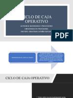 CICLO DE CAJA OPERATIVO