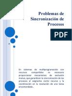 Problemas de Sincronización de Procesos
