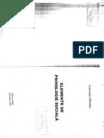 ELEMENTE DE PSIHOLOGIE SOCIALA  -- MITROFAN