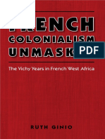 GINIO French Colonialism Unmasked