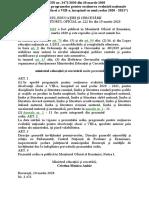 Programe examen EN VIII 2020-2021-lb. romana si matematica