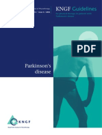 Royal Dutch Society for PT 2006 Guidelines for PT _ Pakinson disease PD