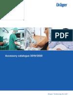 Dräger Accessory catalogue 2019/2020