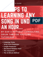 5 Steps to Learning Any Song in Under an Hour PDF