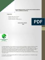 PANORAMA  DEL MANEJO DE AGUAS RESIDUALES